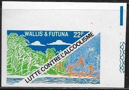 Wallis & Futuna: Imperfored, Lotta Contro L'alcolismo, Fight Against Alcoholism, Lutter Contre L'alcoolisme - Medicina