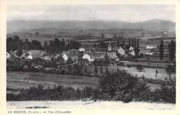 71 - LE BREUIL : Vue D'ensemble - CPA Village (3.570 Habitants) - Saône Et Loire - France