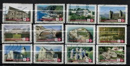 SÉRIE COMPLÈTE 12 TIMBRES 2019 PATRIMOINE - Used Stamps