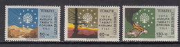 Turkey MNH Michel Nr 2158/60 From 1970 / Catw 2.50 EUR - Unused Stamps