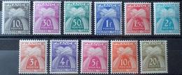 R1615/1594 - 1943/1946 - TIMBRES-TAXE - TYPE GERBES - N°67 à 77 NEUFS** - Portomarken