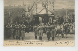 ALLEMAGNE - POTSDAM - Das Kaiserpaar Und Die Prinzen Auf Dem Festplatz - Potsdam