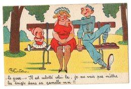 Carte..Illustrateur Jean Nau...Editeur NOYER Collection Comique Militaire N° 6....Détails Scan - Humor