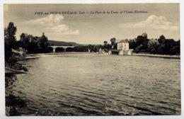 46*VIRE-par Puy L'Eveque-Le Pont De La Croze Et L'Usine Electrique - France