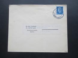 DR 1928 Reichspräsidenten I Nr. 416 EF An Den Vorstand Au Chef De Gare Eisenbahndienstsache Nach Bern In Der Schweiz - Deutschland