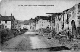 WISEMBACH 88 VOSGES 559 LA ROUTE DE SAINTE-MARIE  EDIT. CUNY - France