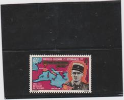 NOUVELLE CALEDONIE 1 T Poste Aérienne Neuf Xx  N°YT PA 121 - 1971 -bataillon Du Pacifique - Poste Aérienne