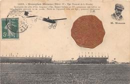 Avion - Cachet Grand Meeting D'aviation TROUVILLE-LE HAVRE - 1910 - Monoplan MORANE - ....-1914: Précurseurs