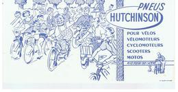Buvard HUTCHINSON Pneus Pour Vélos Vélomoteurs Cyclomoteurs Scooters Motos - Moto & Vélo