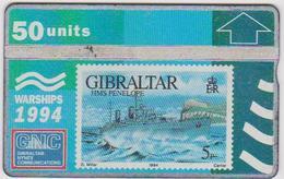 #03 - GIBRALTAR-08 - HMS PENELOPE - STAMP - 409A - Gibraltar