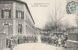95 -  Argenteuil (S-et-O) - Les Ecoles - Rue Carnot. - Animée. - Argenteuil
