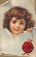CPA Fantaisie - Portrait Enfant  (style Viennoise) - Portraits