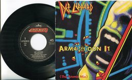 Def Leppard - 45t Vinyle - Armageddon It - Hard Rock & Metal