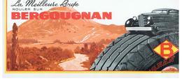 Buvard BERGOUGNAN La Meilleure Route Rouler Sur BERGOUGNAN - Auto's