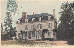 Saint Gondon    :  Le Chateau    ////   JANV. 20 ///   BO. 45 - France