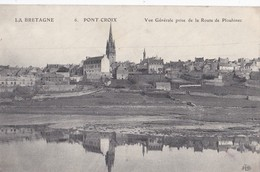Carte 1915 PONT CROIX / VUE GENERALE PRISE DE LA ROUTE DE PLOUHINEC - Pont-Croix