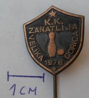 Bowling Club KK ZANATLIJA VELIKA GORICA CROATIA  PINS BADGES P2 - Bowling