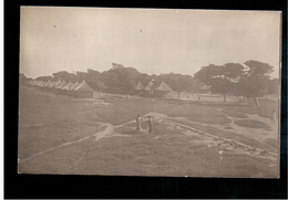 SOUDAN Le Camp Des Tirailleurs Ca 1915 Old Photo Postcard - Sudan
