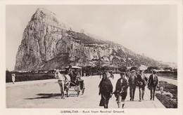GIBRALTAR / ROCK FROM NEUTRAL GROUND - Gibraltar