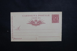 ITALIE - Entier Postal Type Humbert 1er Non Circulé - L 50494 - 1878-00 Umberto I