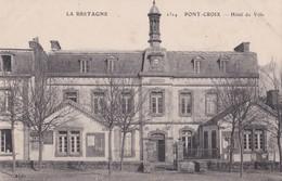 Carte 1915 PONT CROIX / HOTEL DE VILLE - Pont-Croix