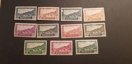 Sénégal Yvert 114-124* - Unused Stamps