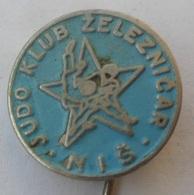 Judo Club Zeleznicar Nis Niš Serbia  PINS BADGES P2 - Judo