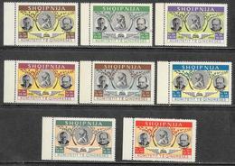 Albania/Albanie: Francobolli Emessi Nel 1952 Dal Comitato Di Liberazione, Stamps Issued In 1952 By The Liberation Commit - Albania