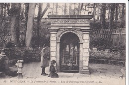 Carte 1920 PONT CROIX / LA FONTAINE DE LA VIERGE - LIEU DE PELERINAGE - Pont-Croix