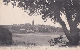 Carte 1915 PONT CROIX / VUE GENERALE DE LA VILLE , PRISE DE LA RIVIERE - Pont-Croix