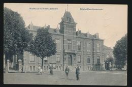 CHAPELLE LEZ HERLAIMONT HOTEL ET PLACE COMMUNALE - Chapelle-lez-Herlaimont