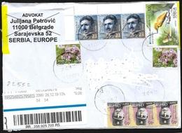 Serbia/Serbie: Raccomandata, Registered, Recommandé - Serbia