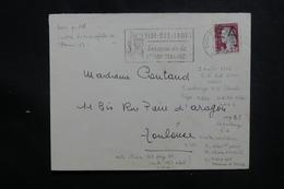 ALGÉRIE - Affranchissement Decaris Surchargé EA Sur Enveloppe De Sidi Bel Abbes En 1962, Obl Légion Etrangère - L 50500 - Algerije (1962-...)