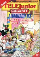 """Télé Junior Géant -  Hors Série N°3 - Almanach 83 - Nombreuses BD """"Jerry Doblebang"""" - Autre Magazines"""