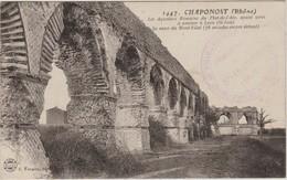 CPA Chaponost 69 / Cachet Dépôt De Prisonniers De Guerre / Détachement De St-Imier Isère 38 - Marcophilie (Lettres)