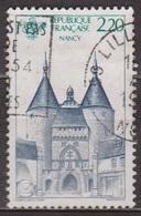 Tourisme - FRANCE - Nancy, Porte De La Craffe - N° 2419 - 1986 - Used Stamps