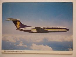BRITISH CALADONIAN  VC 10   Pas D Impression Au Verso - 1946-....: Era Moderna