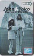 #03 - GIBRALTAR-17 - JOHN LENNON & YOKO ONO - 605L - Gibraltar