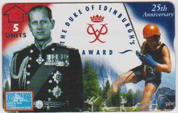 #03 - GIBRALTAR-18 - THE DUKE OF EDINBURGH'S AWARD - 623L - Gibraltar