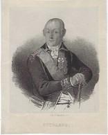Degobert - Portrait Du Généralissime Alexandre Souvorov (1730-1800) - Lithografieën