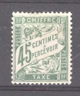 0ob  0411  -  France -  Taxes   :  Yv  36  * - 1859-1955 Nuovi