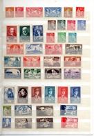 Lot De 71 Timbres Neufs Sans Charnière Du N° 235 Au N° 1212 + P.A Départ à 1 EURO Pour Une Cote De 439 Euros - Collezioni