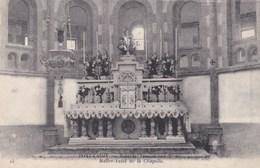 Carte 1915 PONT CROIX / HOPITAL TEMPORAIRE N°37 - MAITRE AUTEL DE LA CHAPELLE - Pont-Croix