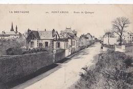 Carte 1915 PONT CROIX / ROUTE DE QUIMPER - Pont-Croix