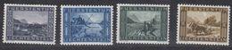 Liechtenstein 1943 Binnenkanal 4v * Mh (= Mint, Hinged)  (45805) - Unused Stamps