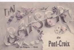 Carte 1920 UN BAISER DE PONT CROIX / - Pont-Croix