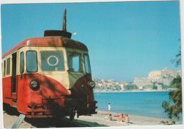 TRAIN  :  Chemin De  Fer  : Corse ,  CALVI - Trains