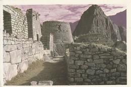 PERU. MACHU PICCHU. CUSCO. ZONA DEL TORREÓN Y HUAYNA PICCHU. C-01. (807). ESCRITA. - Perú