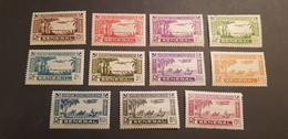 Sénégal Yvert PA 1-11* - Unused Stamps