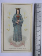 Image Religieuse Notre Dame De Pont Main - Souvenir De Mission - Image Double - Santini